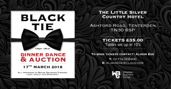 Black Tie Dinner in aid of MNDA