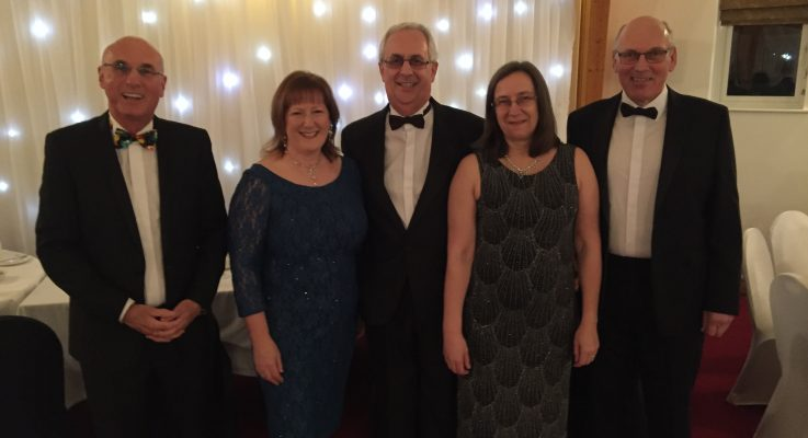 Oh what a night! Wealden Business Group charity dinner raises more than £4,000 in aid of MNDA